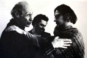 Alessandro Fersen e Jerzy Grotowski, 1964.
