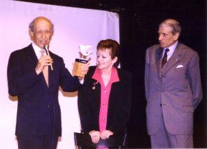Alessandro Fersen al Premio Novaro, 1992.