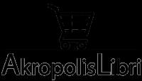 Logo Akropolis Libri carrello nero